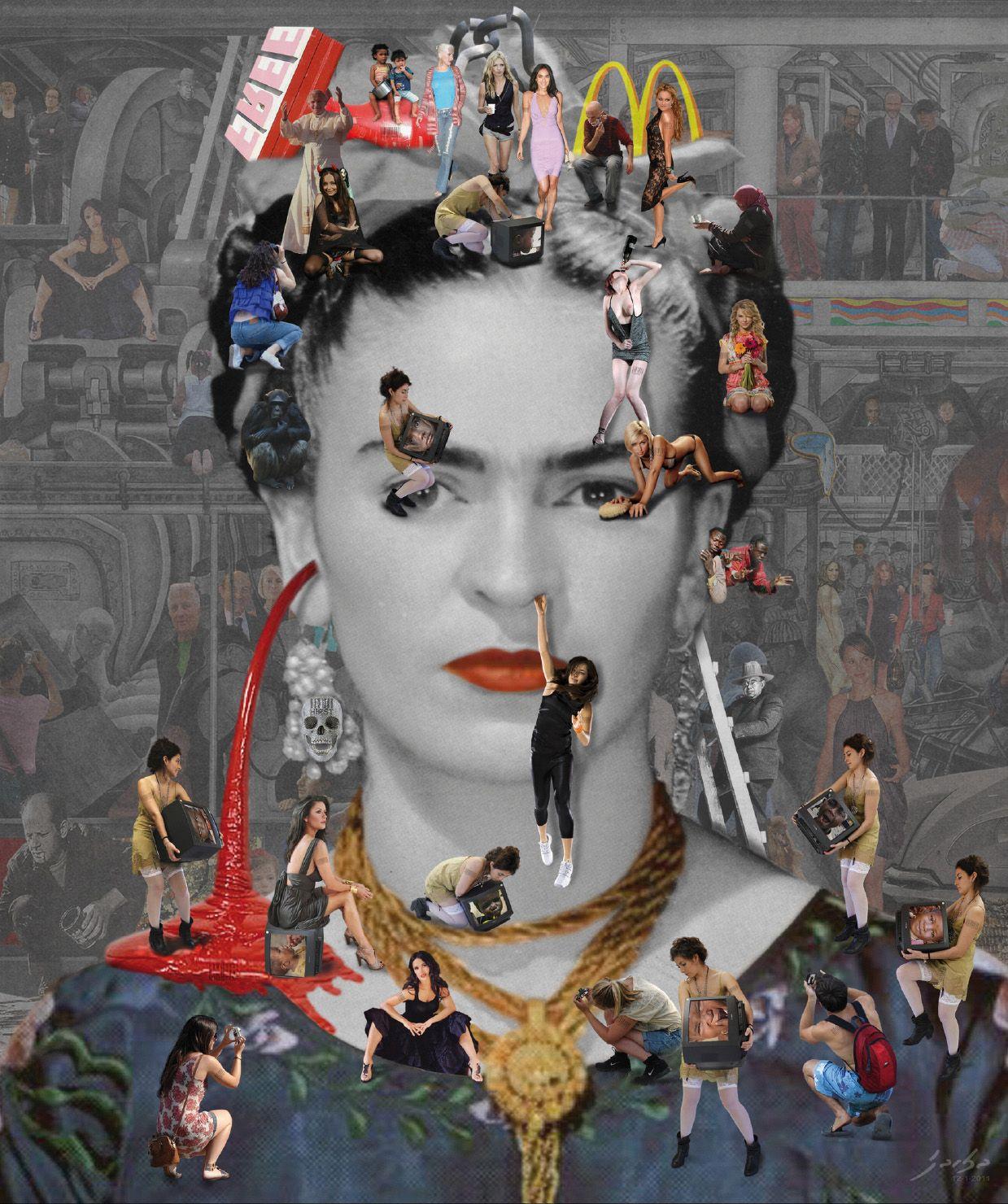 alt Self Portrait: Frida Kahlo