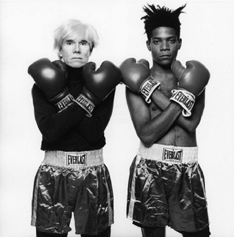 Andy Warhol & Jean Michel Basquiat #143