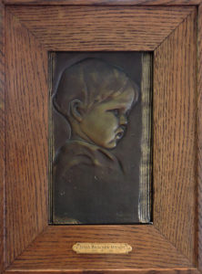 Wendt childs portrait big frame