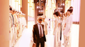 Image of Simon Procter's CHANEL, Karl and Brides, Paris, Haute Couture 2010