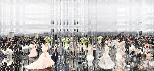 The Palace of Mirrors, Chanel Haute Couture, Spring/Summer 2017