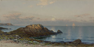 Bricher-Moonlight Seascape