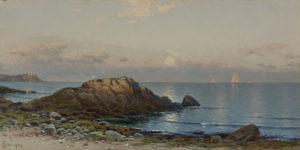 Bricher-Moonlight Seascape