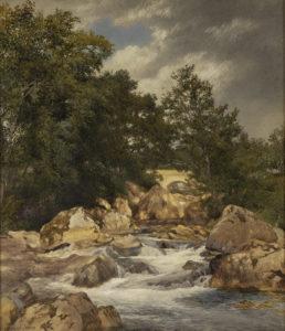 Hill, J-Bridge and Stream, 1878