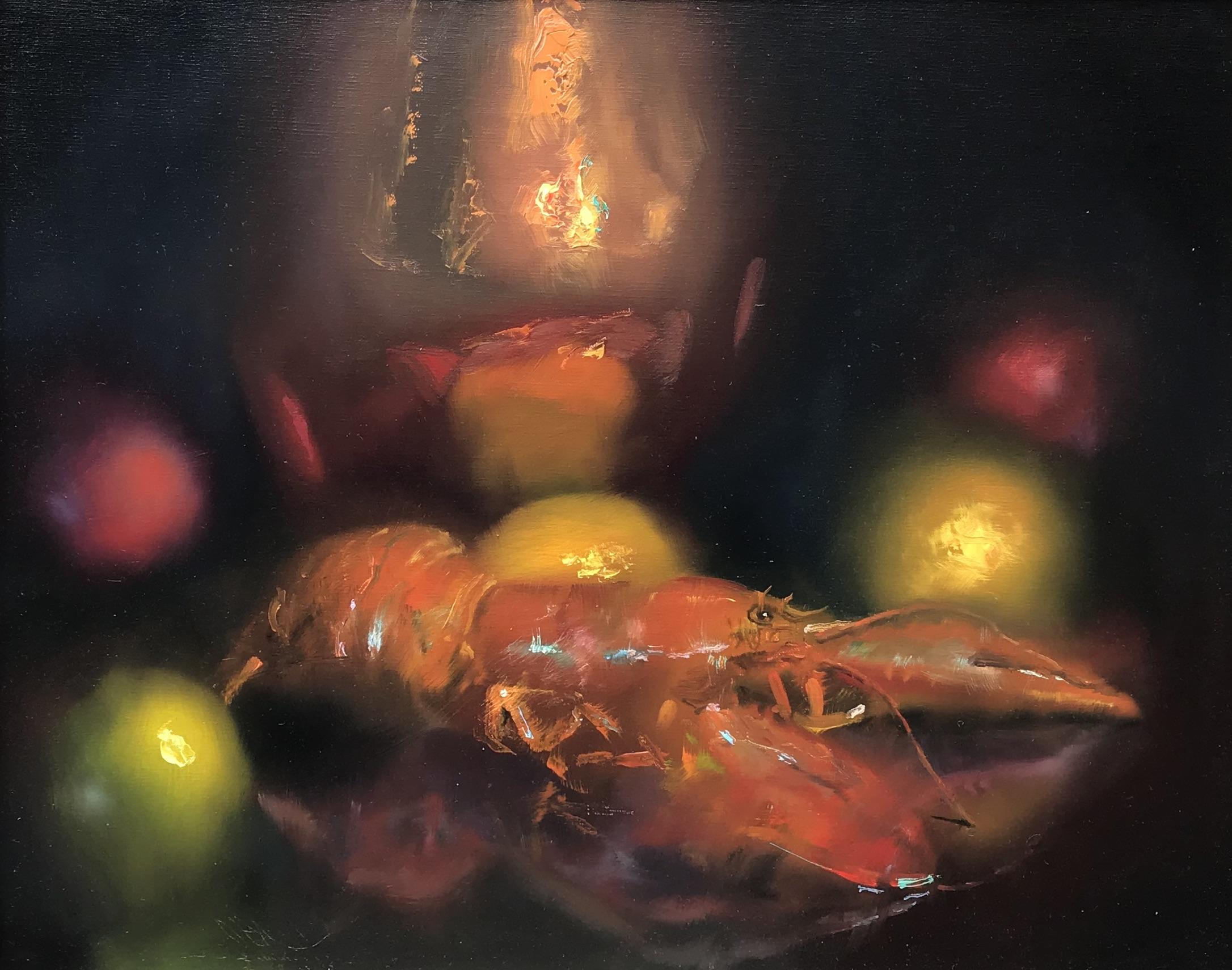 alt Lobster, Copper Pot & Fruit