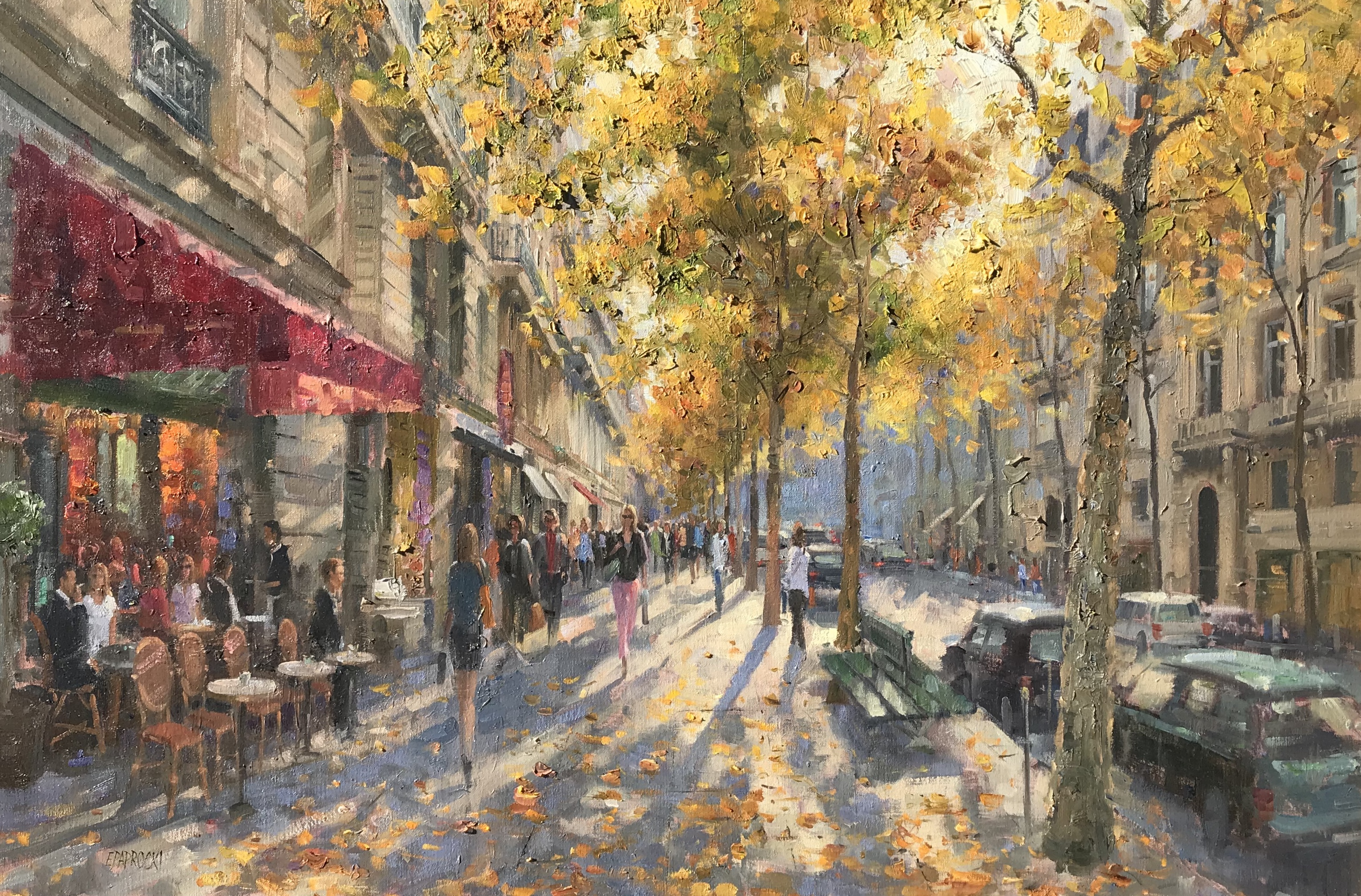 alt St. Germain in Autumn Light