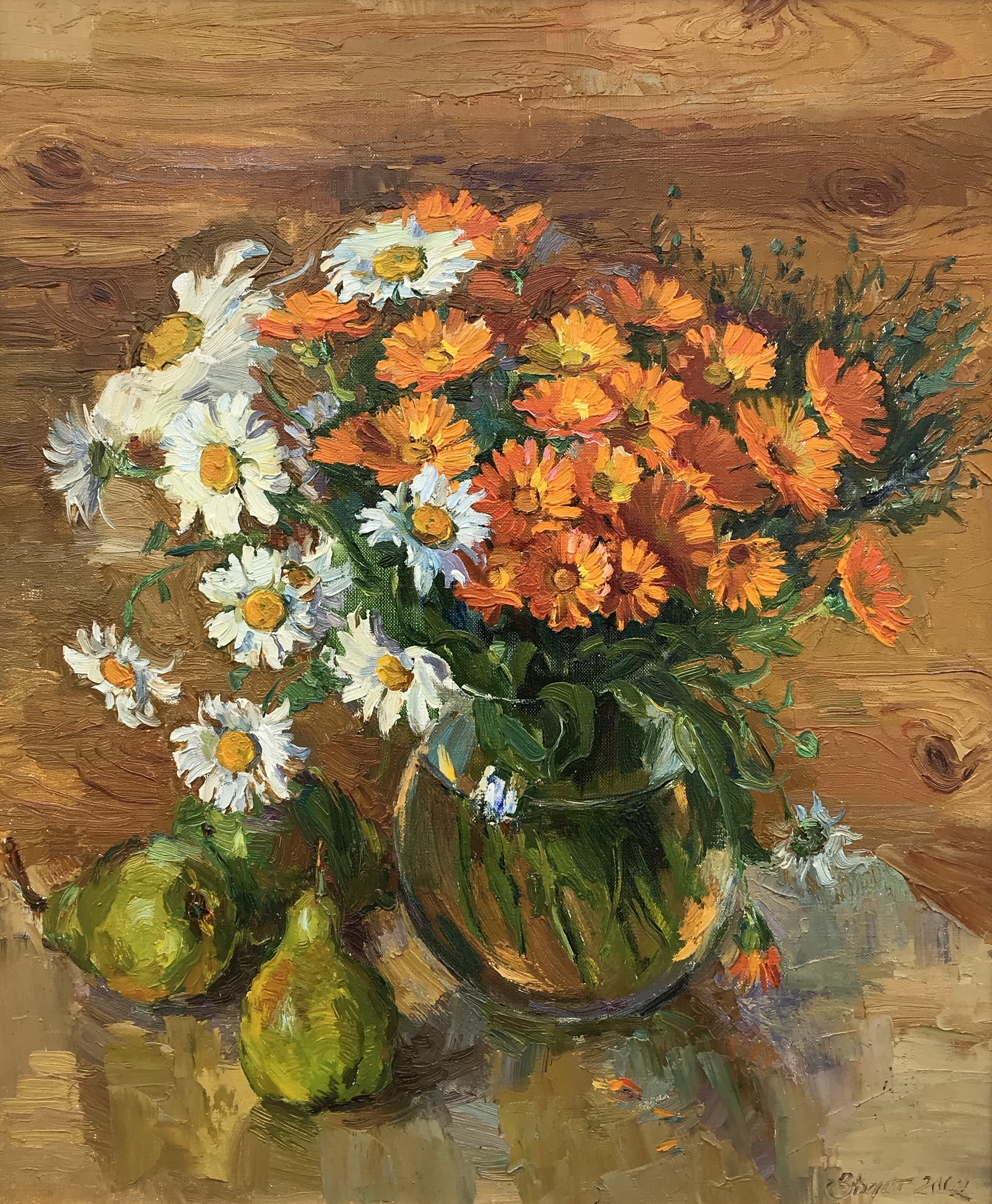 Daisies and Pears