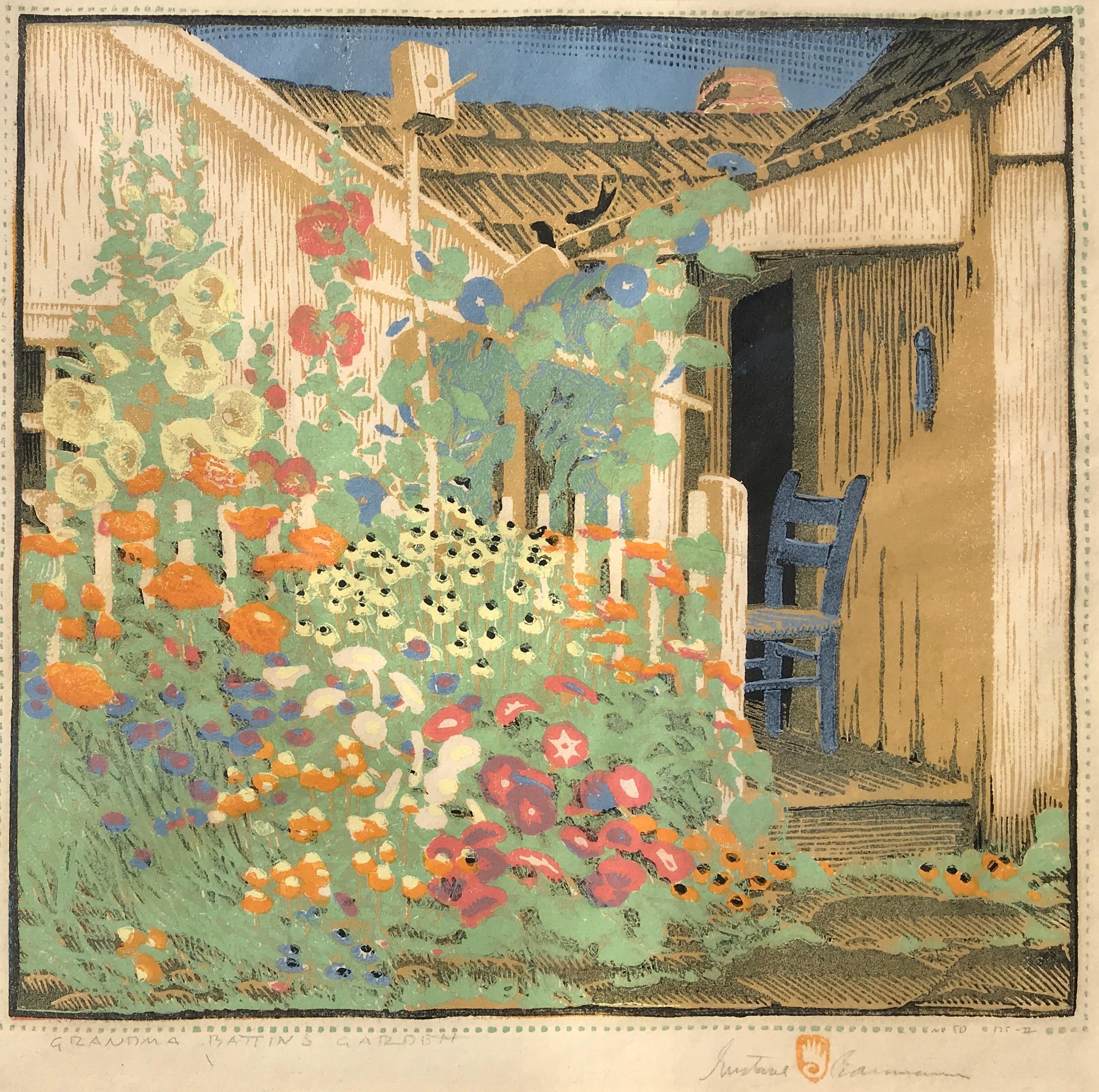 Baumann-Grandma Battin's Garden-2-cropped