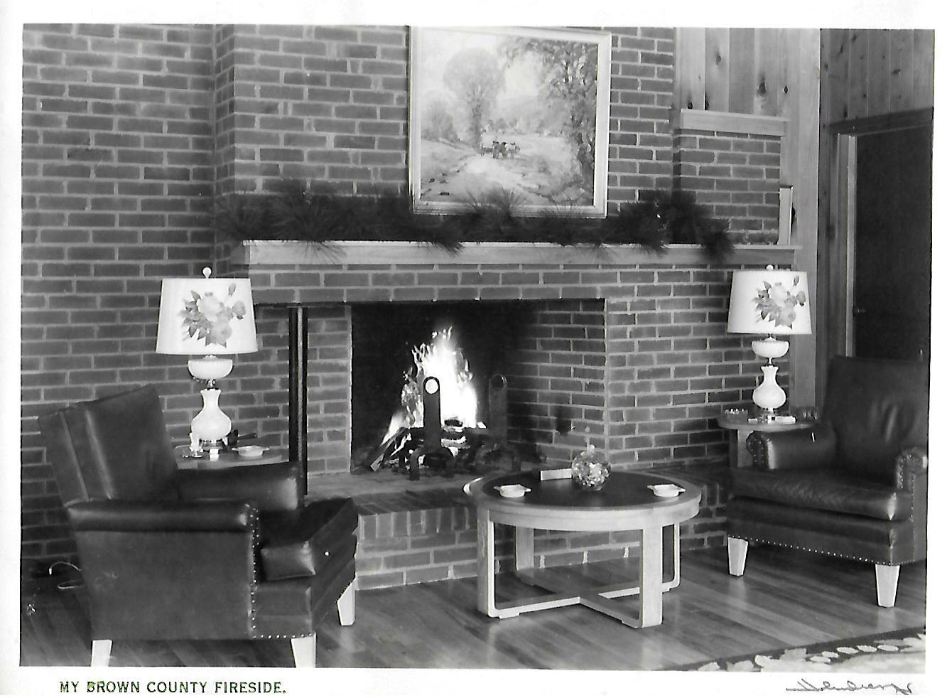 alt My Brown County Fireside