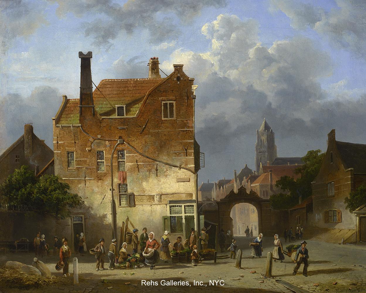 adrianus_eversen_e1298_a_dutch_market_wm