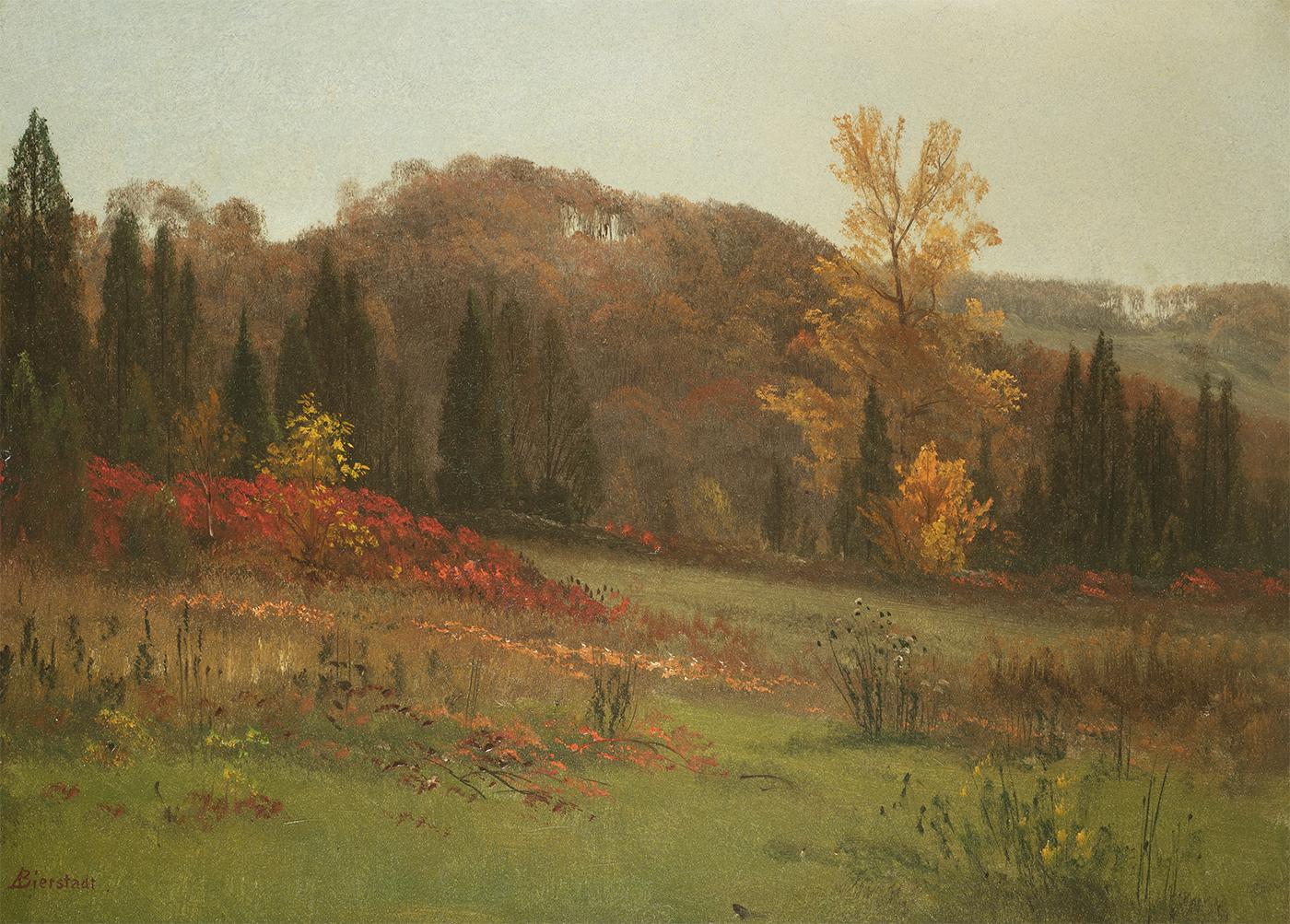 Bierstadt-Autumn Landscape