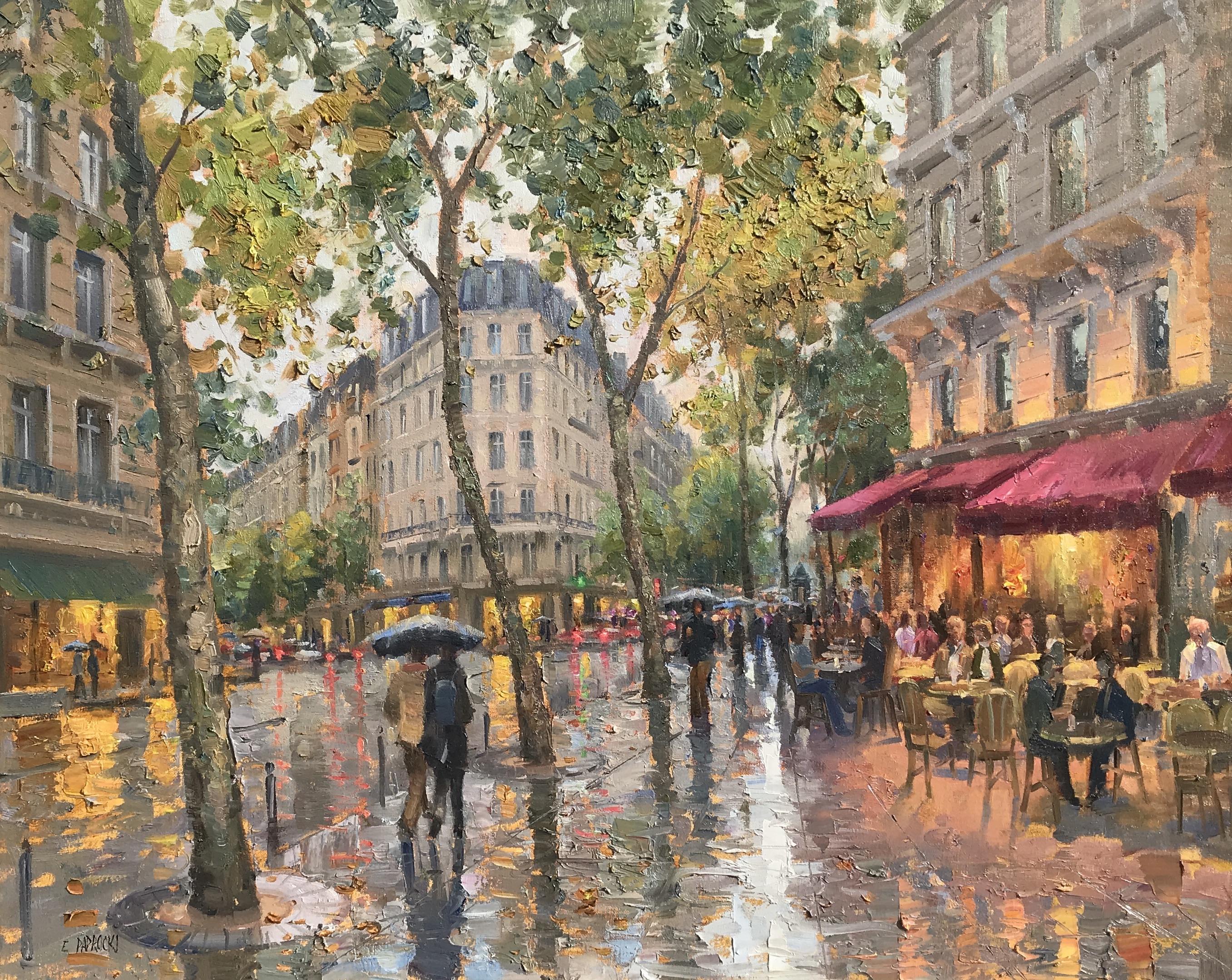 Rainy Afternoon, St. Germain, Paris