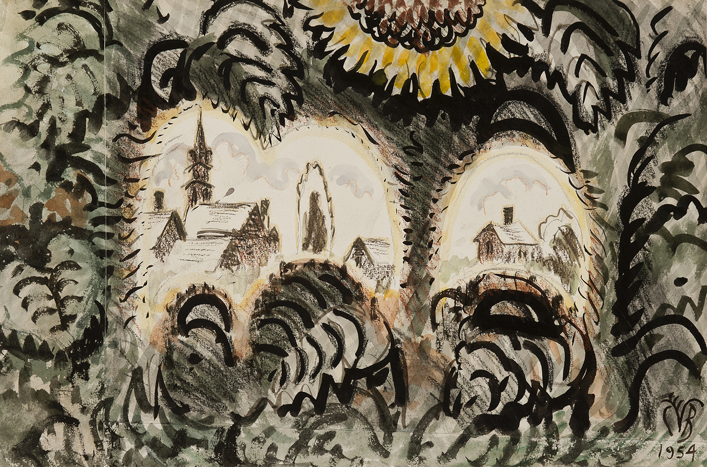 Burchfield-Sunflower Arches