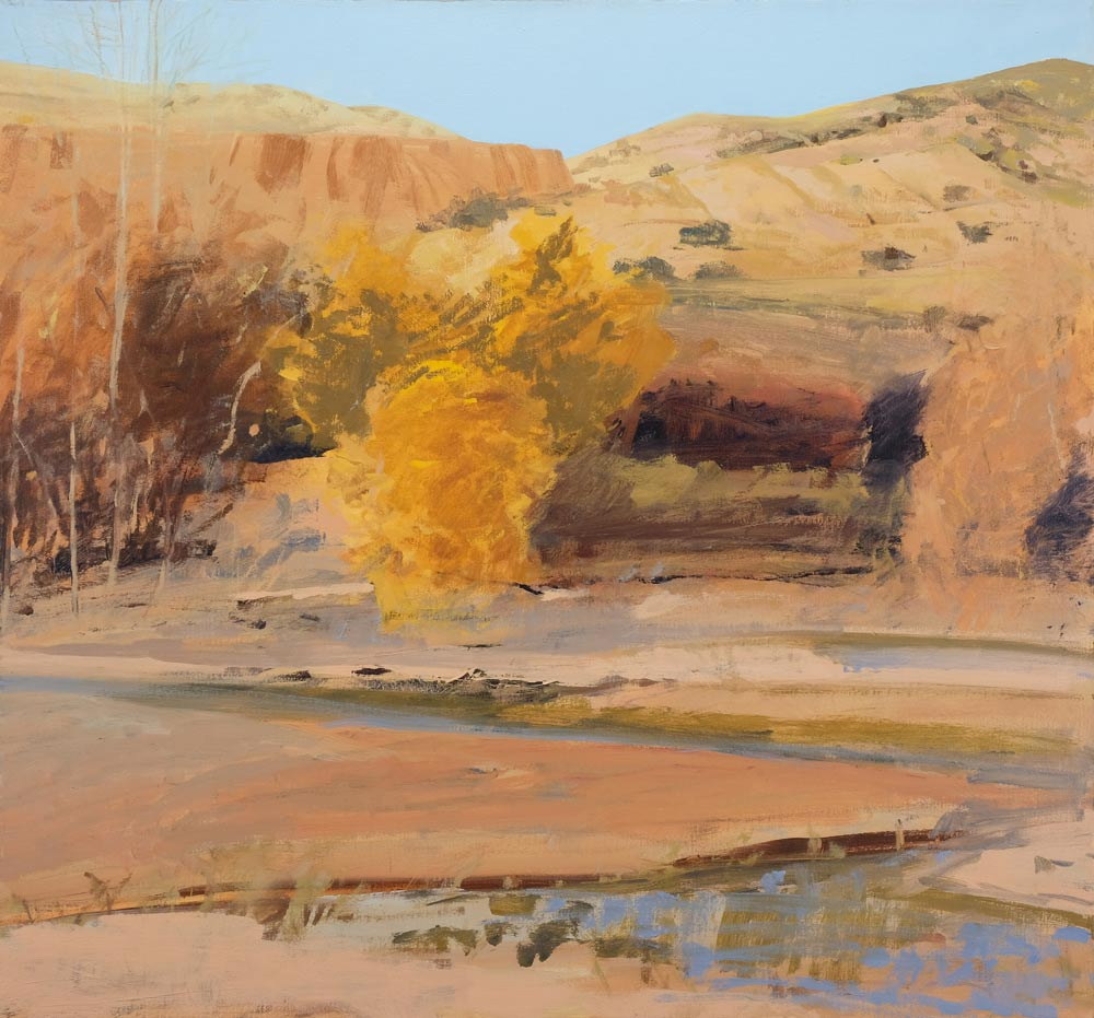Moses-Forrest-The-Chama-at-Rio-Caliente-unframed
