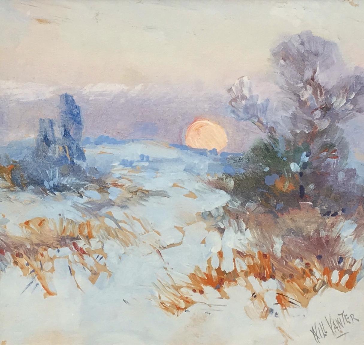 alt Winter Sunset