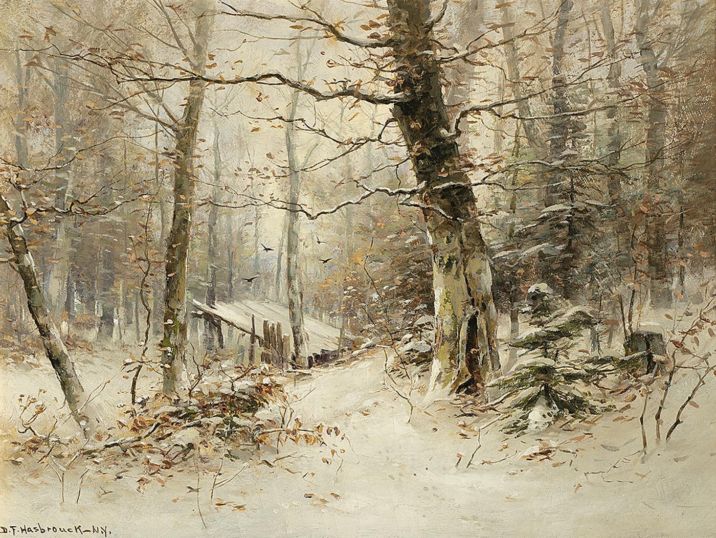alt Winter Woods