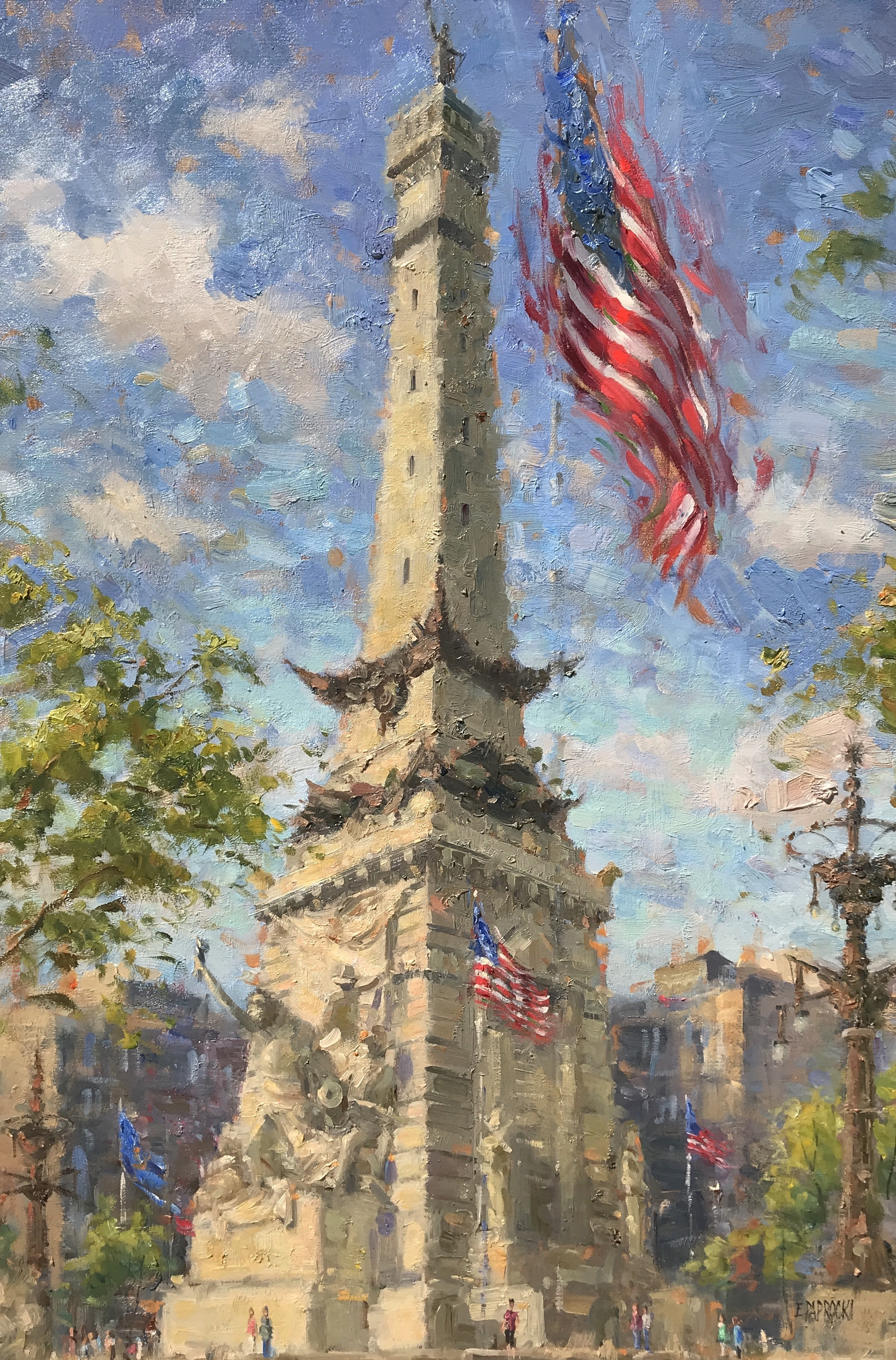alt Soldiers' and Sailors' Monument, Indianapolis