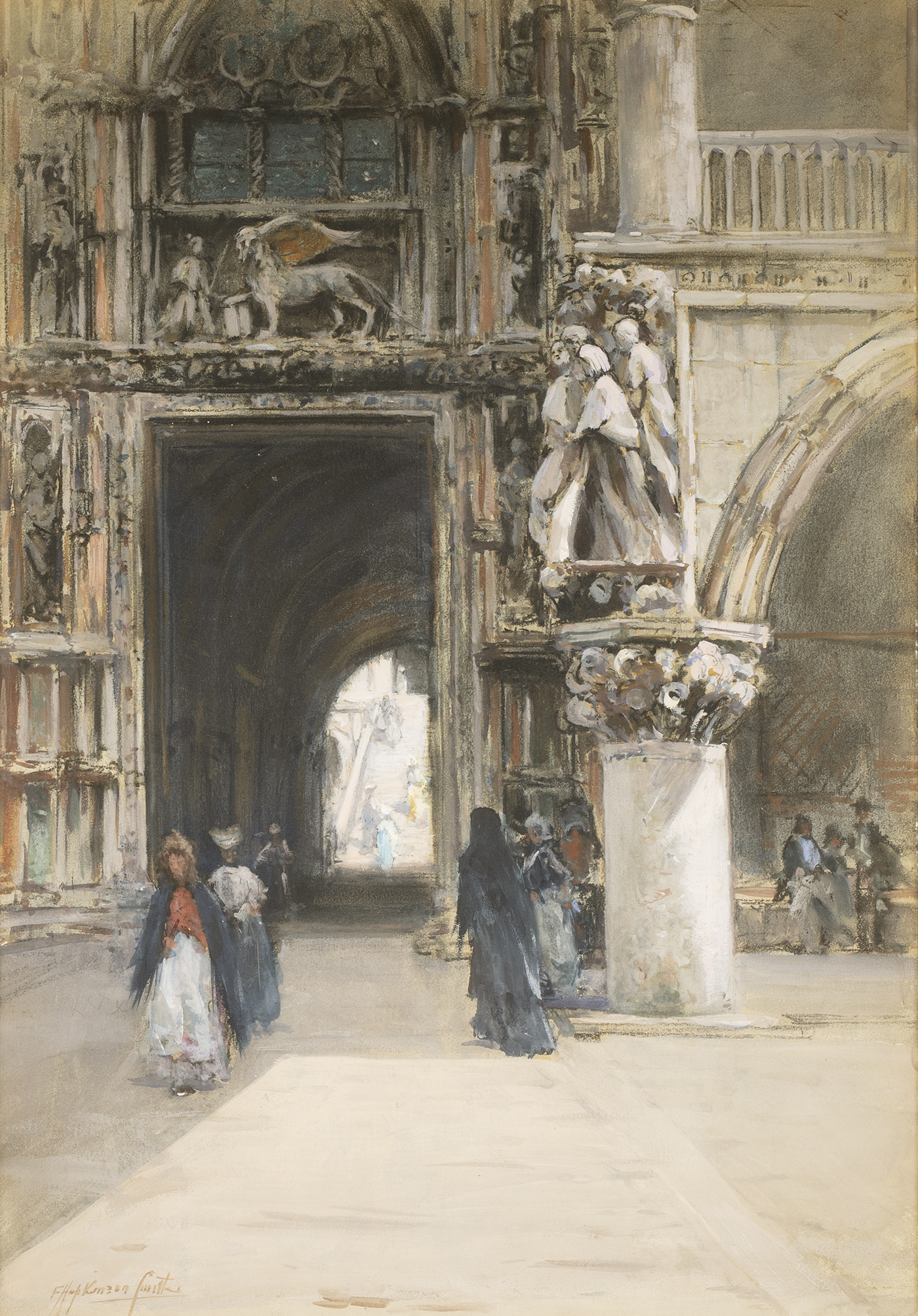 alt Porta della Carta, Venice