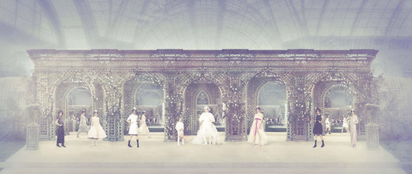 Chanel Garden, Haute Couture Spring Summer 2019, Le Grand Palais, Paris C-print by Simon Procter