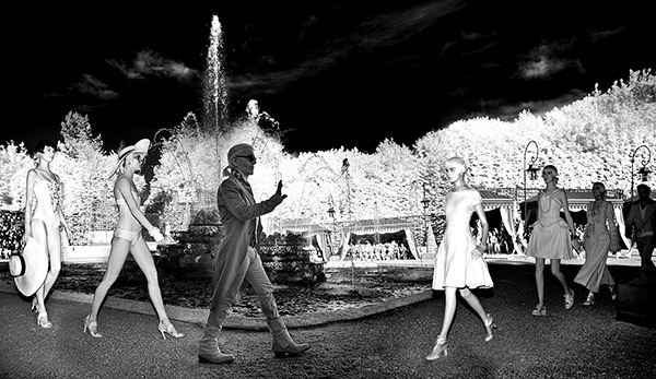 Chanel Sun King, Cruise Collection 2013, The Palace of Versailles, France C-print by artist Simon Procter