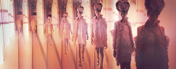 Chanel Timelapse, Haute Couture 2010, Rue Cambon, Paris C-print by artist Simon Procter