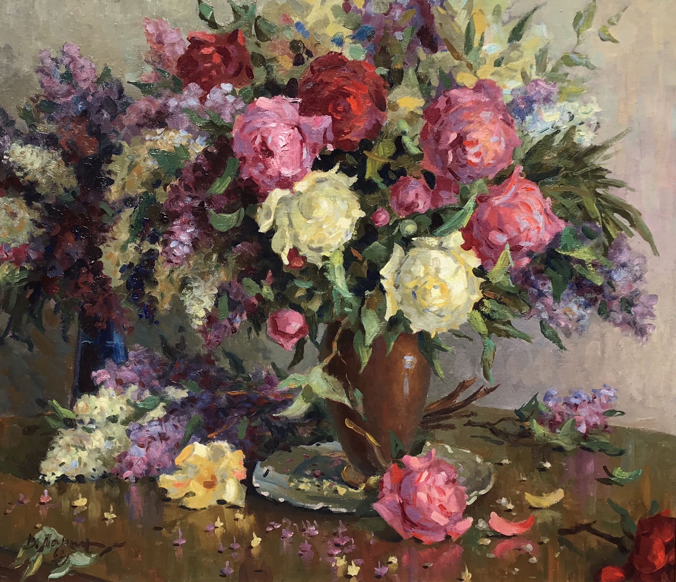 alt Peonies and Lilacs