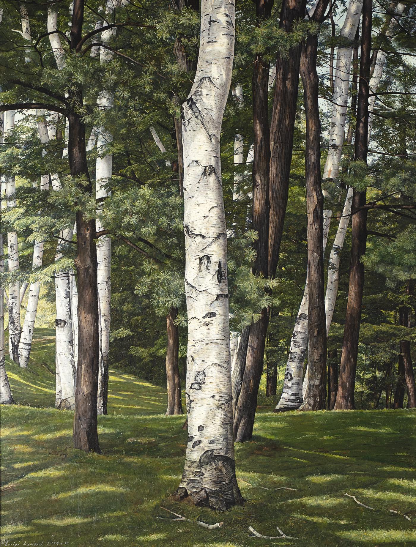 alt In the Birches