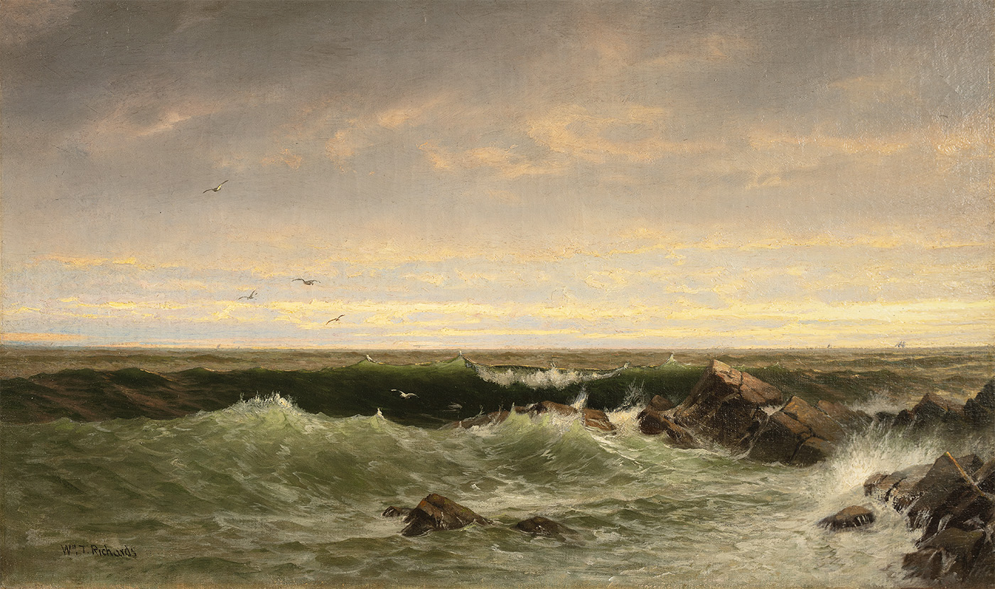 alt The Evening Sea, Brigantine, Shoals
