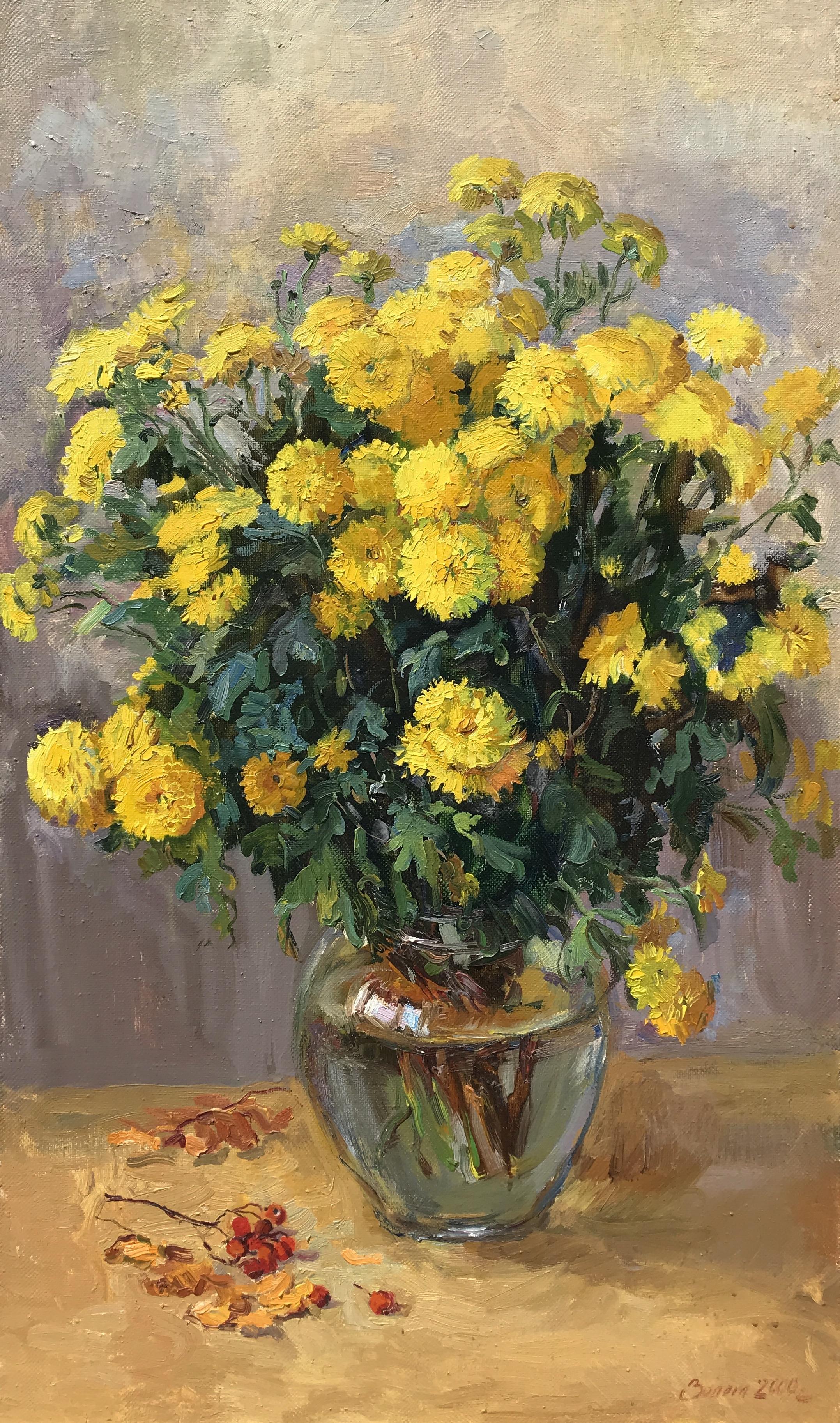 alt Yellow Mums