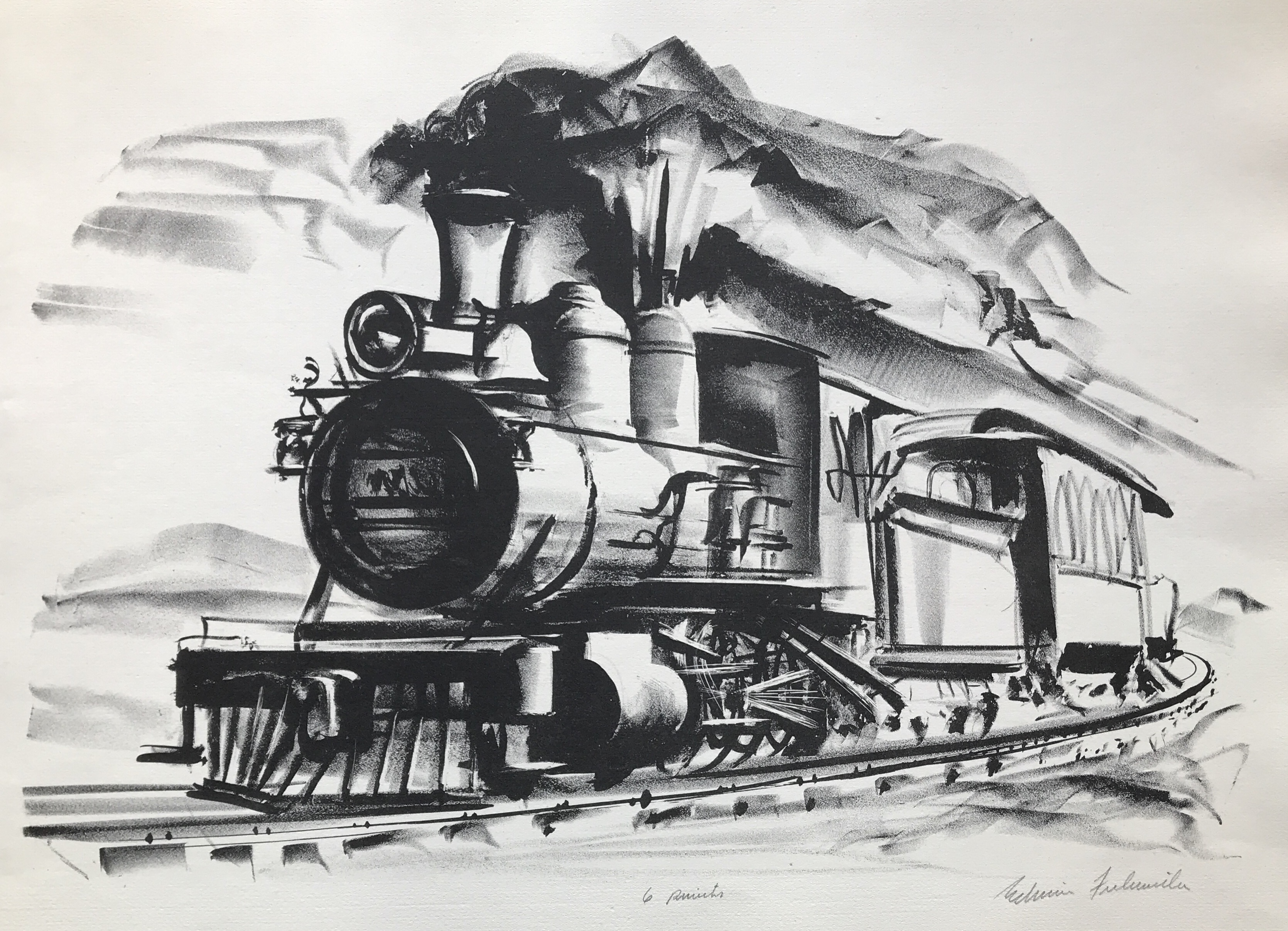 alt Tearing Locomotive