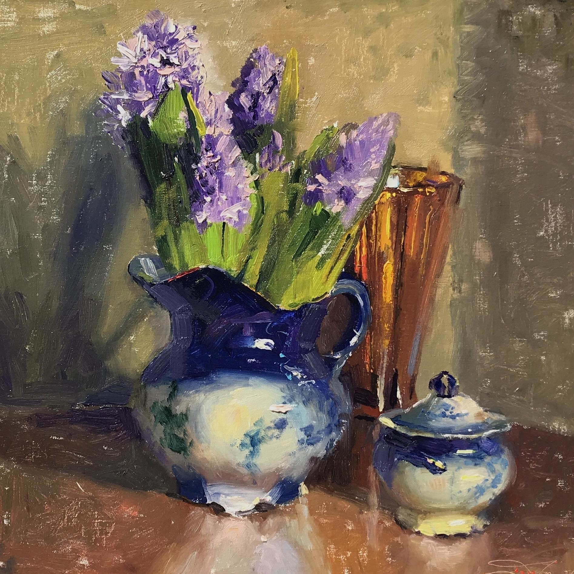 alt Hyacinths & Flow Blue