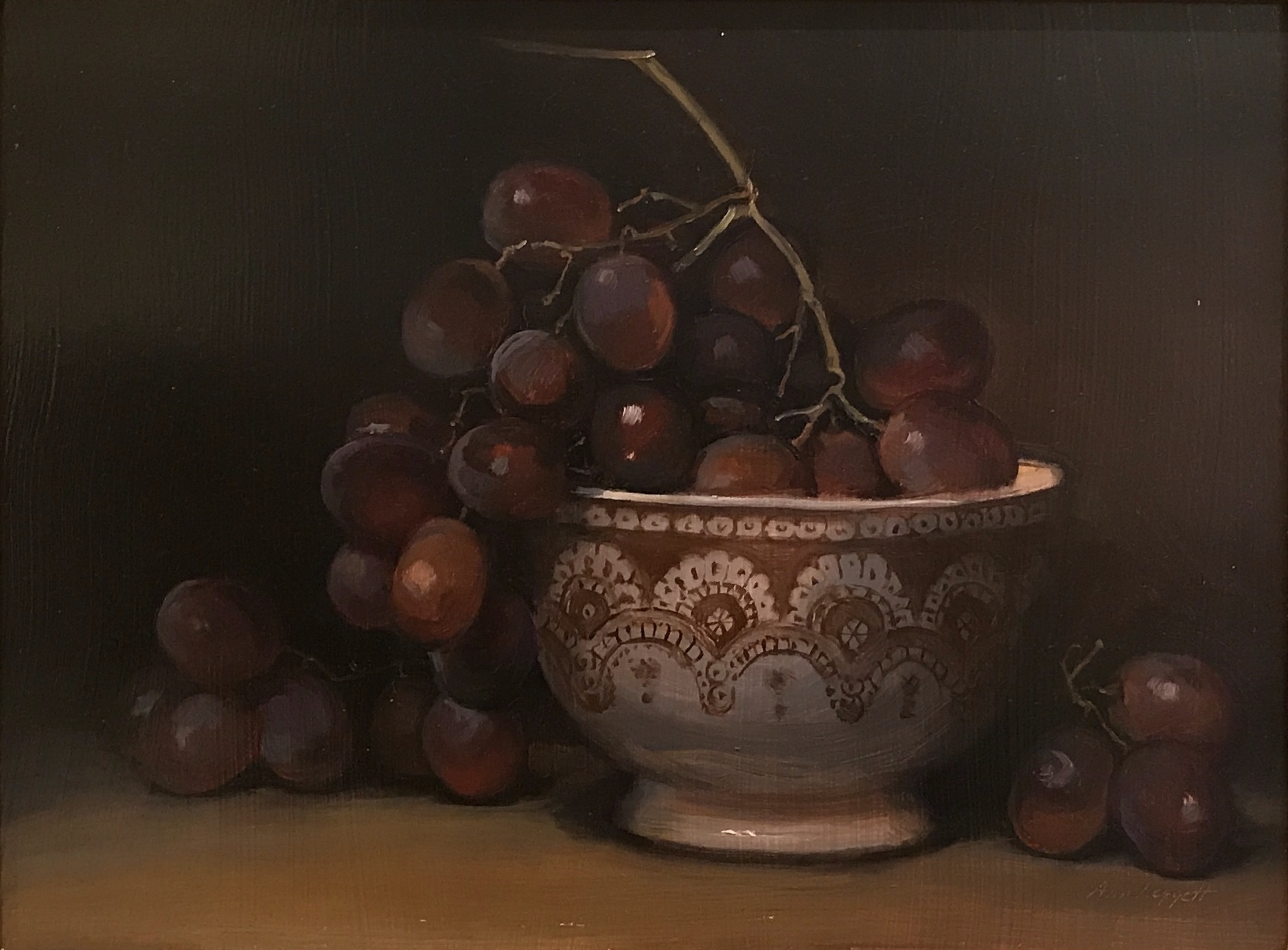alt Still Life with Grapes