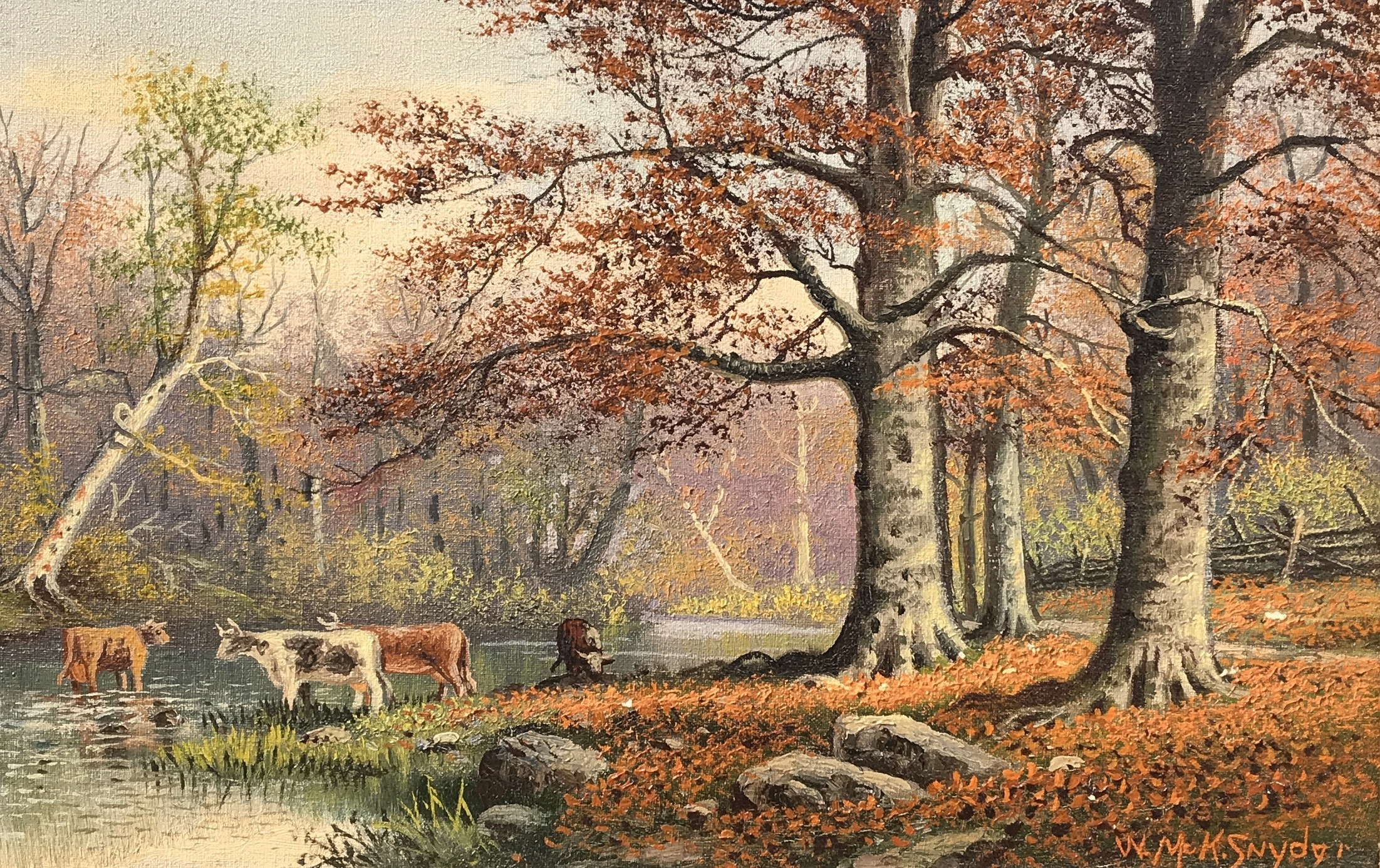 alt Cows in the Stream