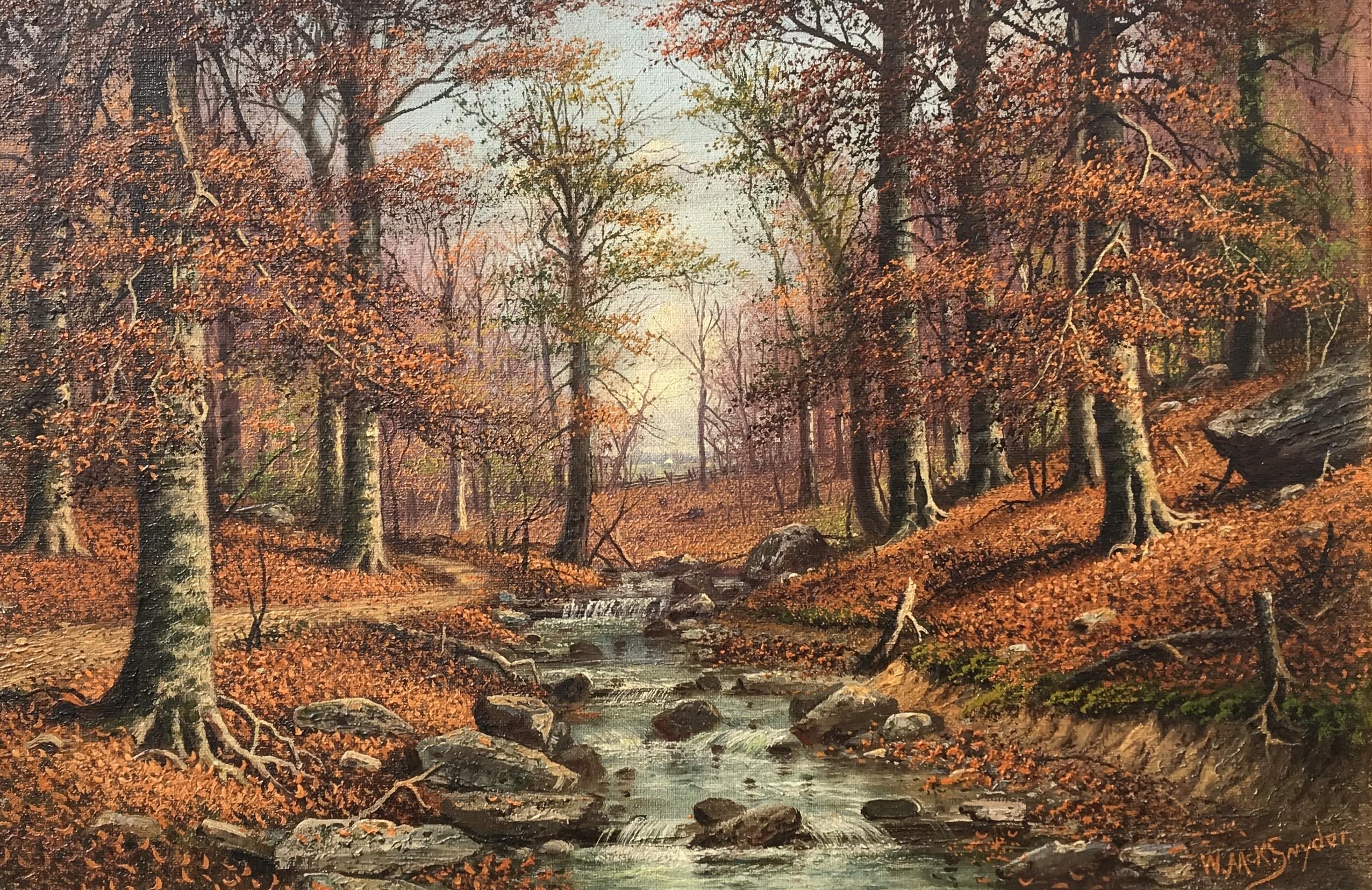 alt Indiana Beech Woods (The Rocky Stream)