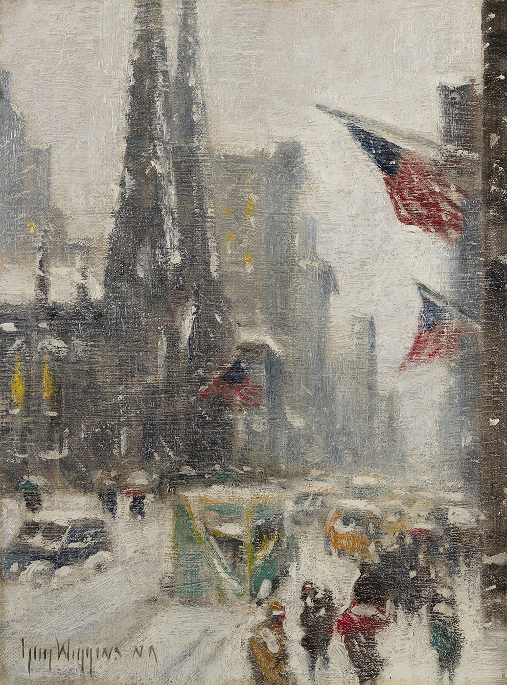 alt Fifth Avenue in the Snow