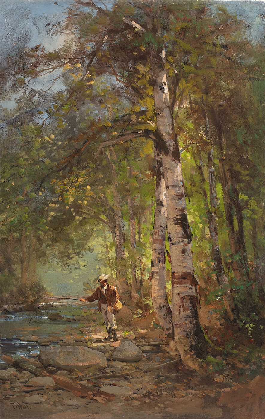 alt Fisherman in the Woods