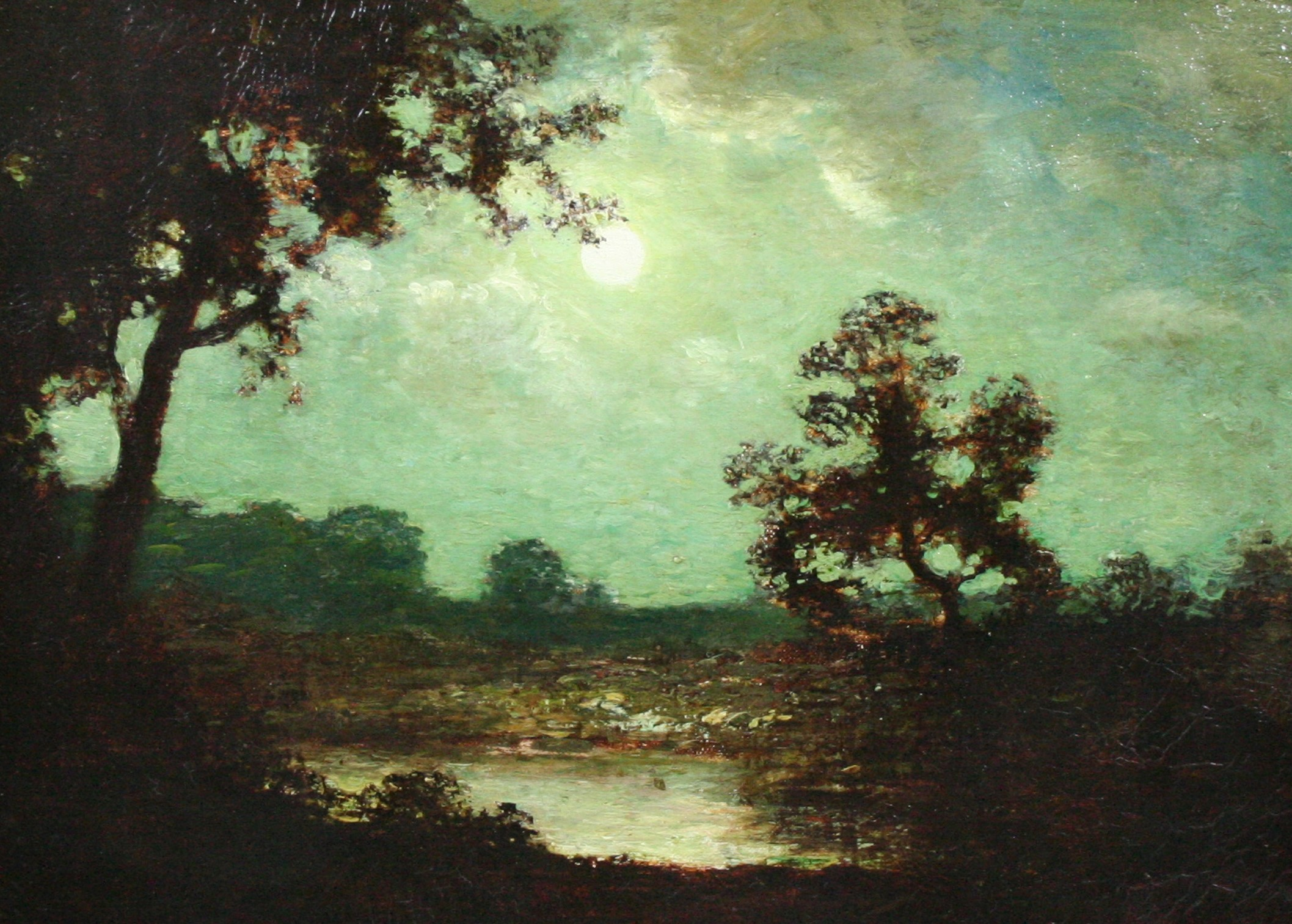 alt Landscape at Moonlight