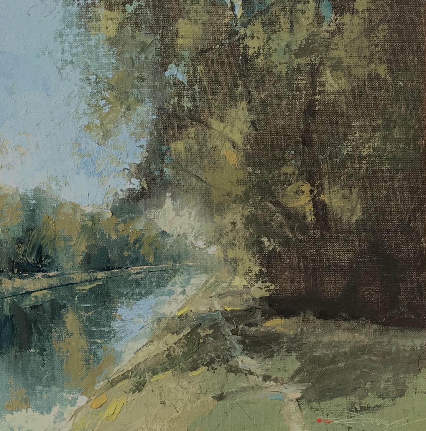 alt Broad Ripple Canal, Early Autumn