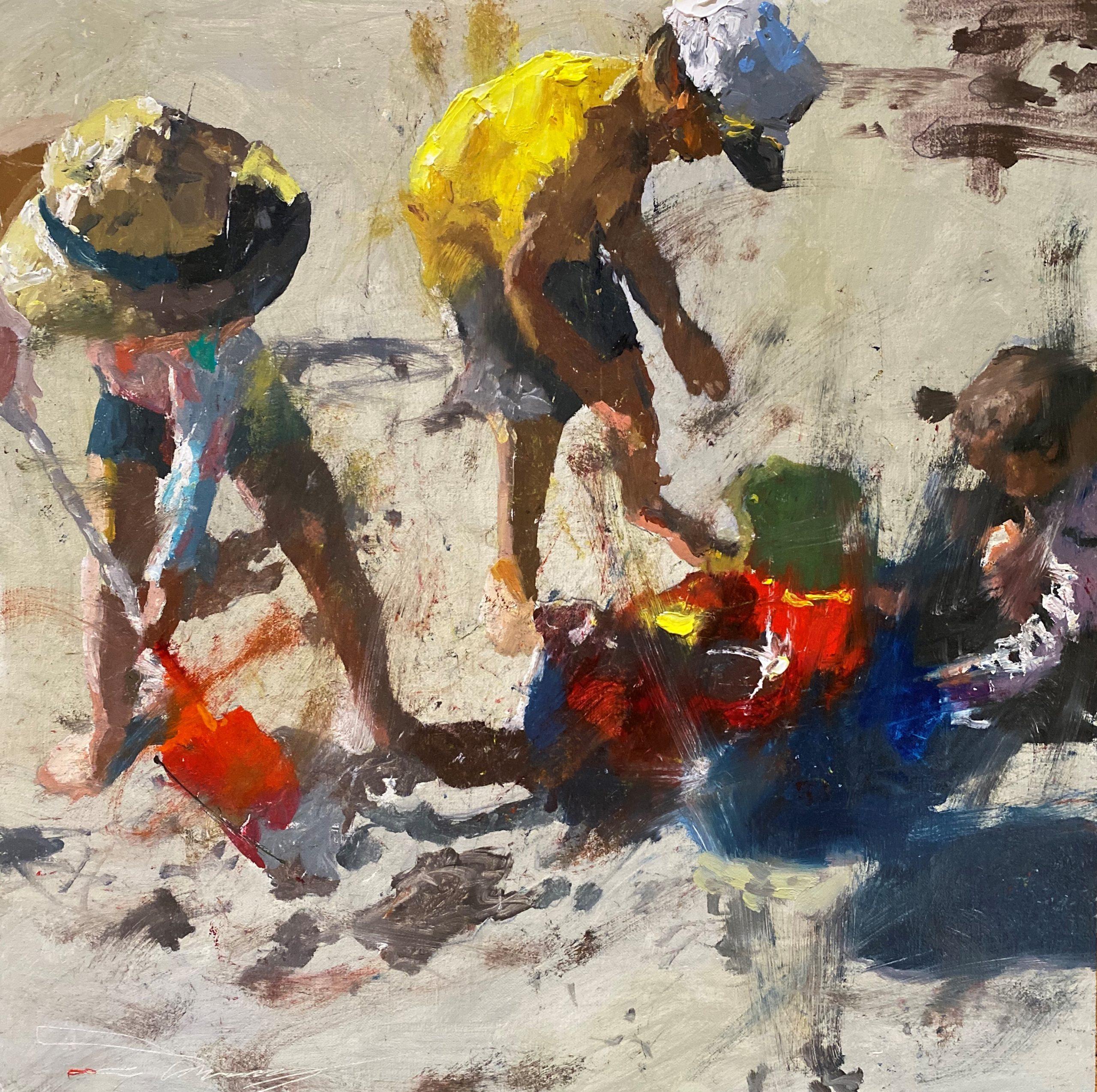 alt Children at the Beach #1