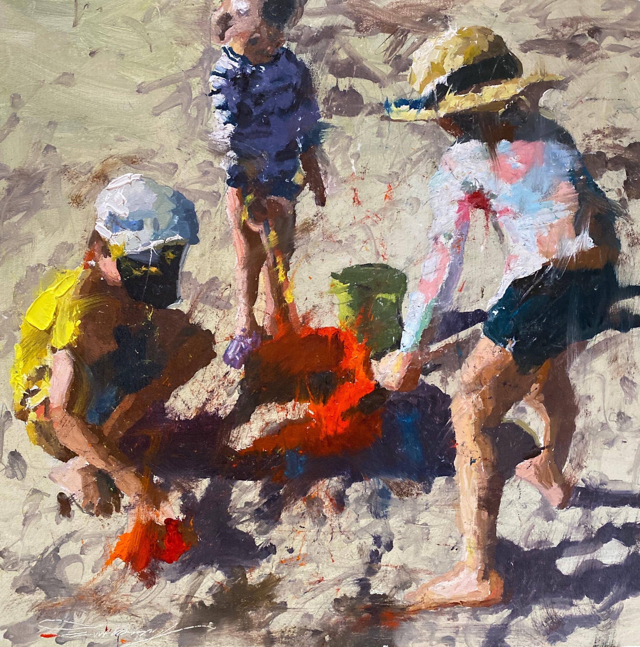 alt Children at the Beach #2