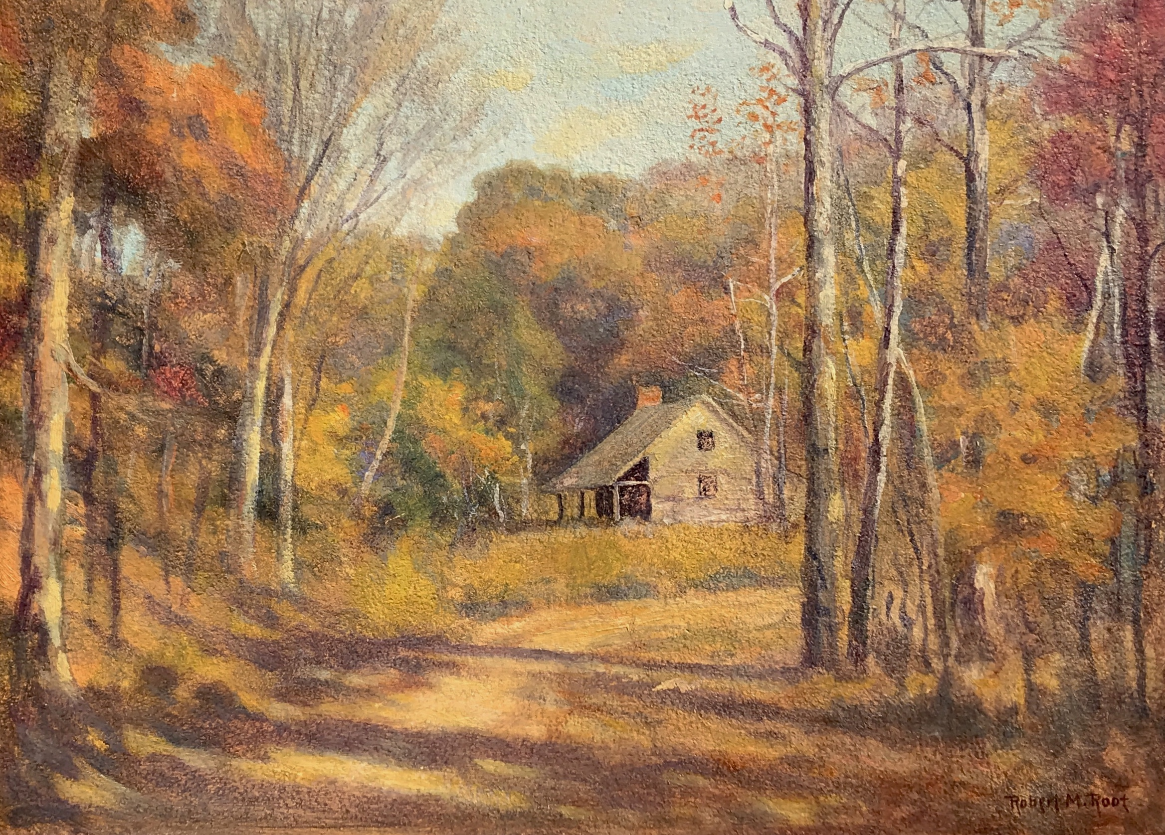 alt Cabin in Autumn