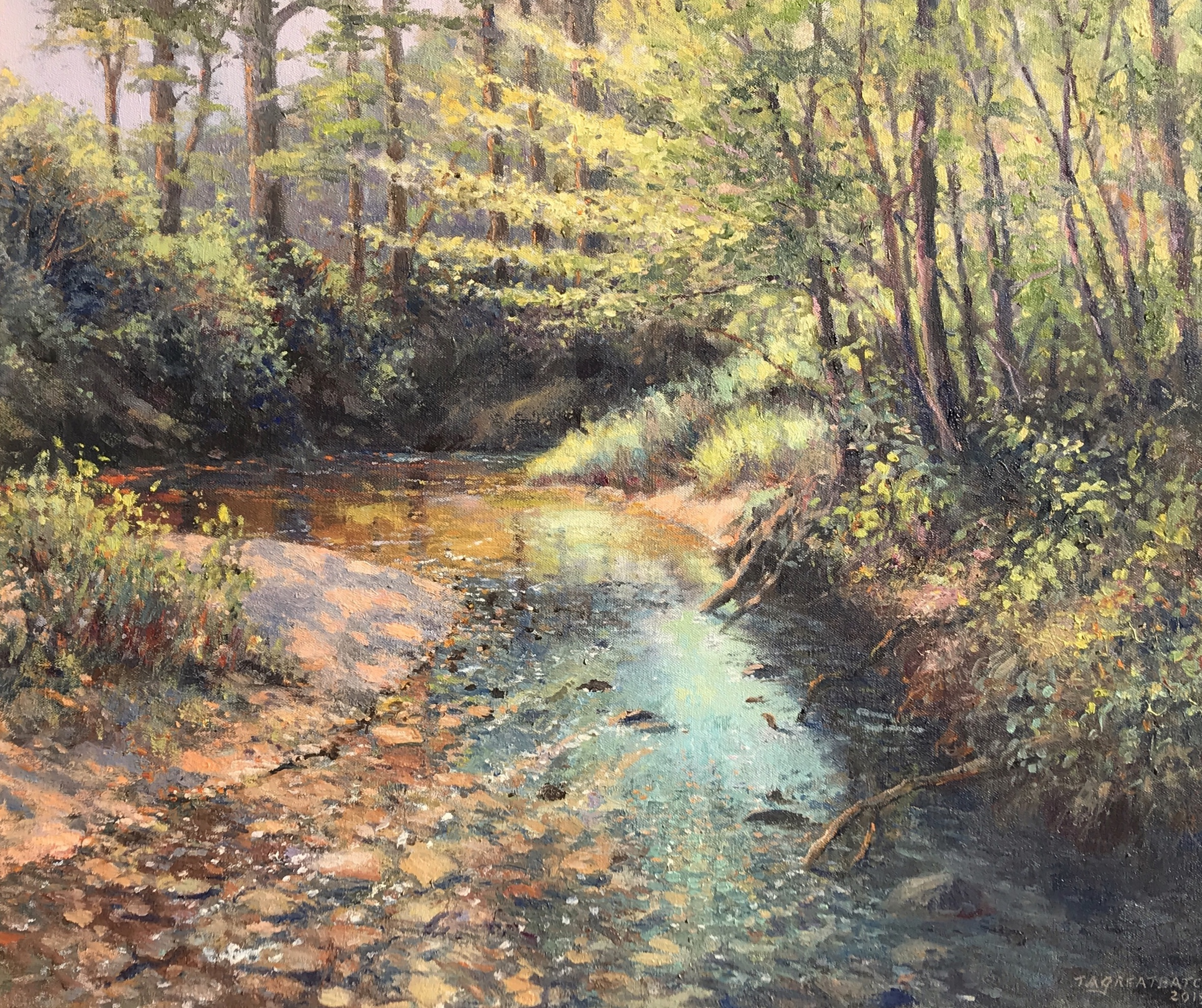 alt Woodland Creek, Yellowwood