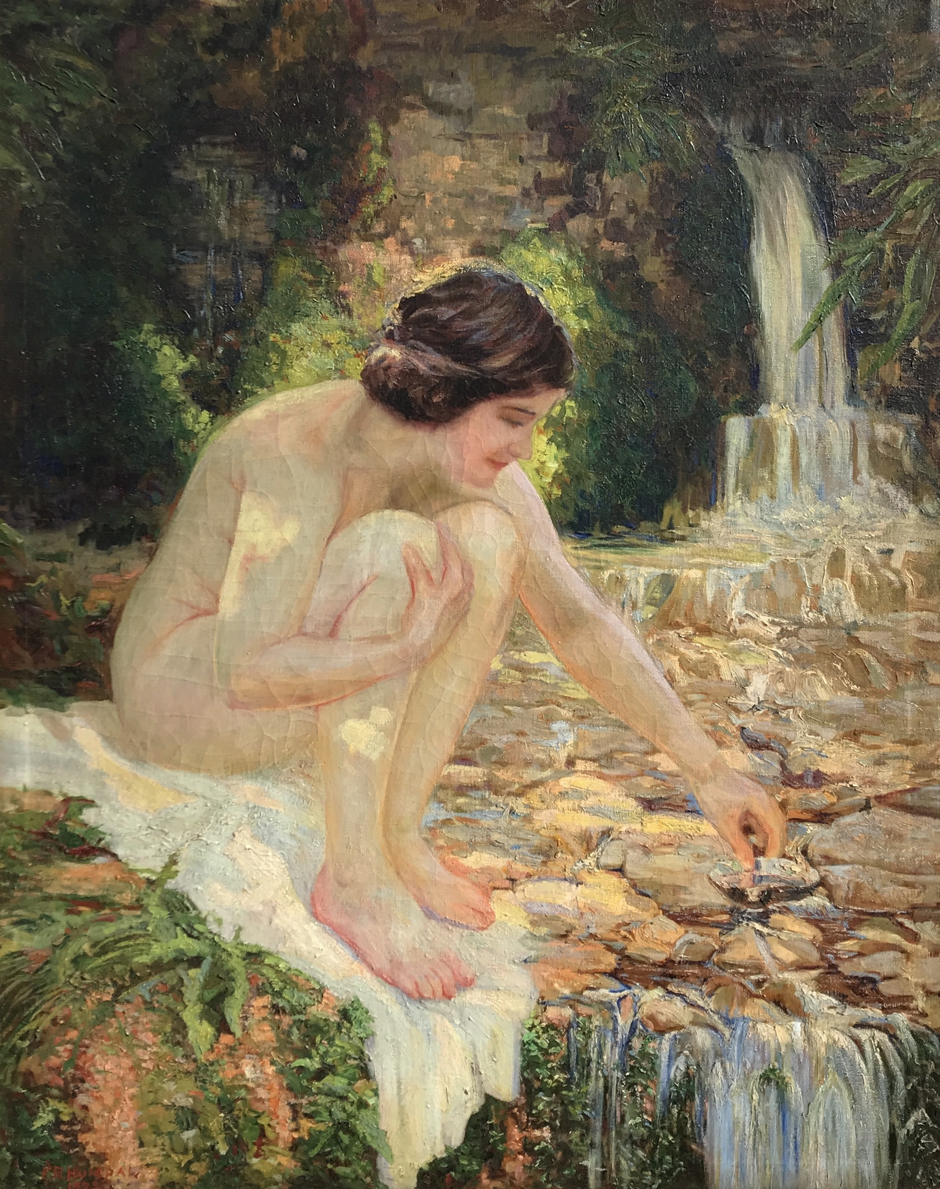 alt Nude By the Stream