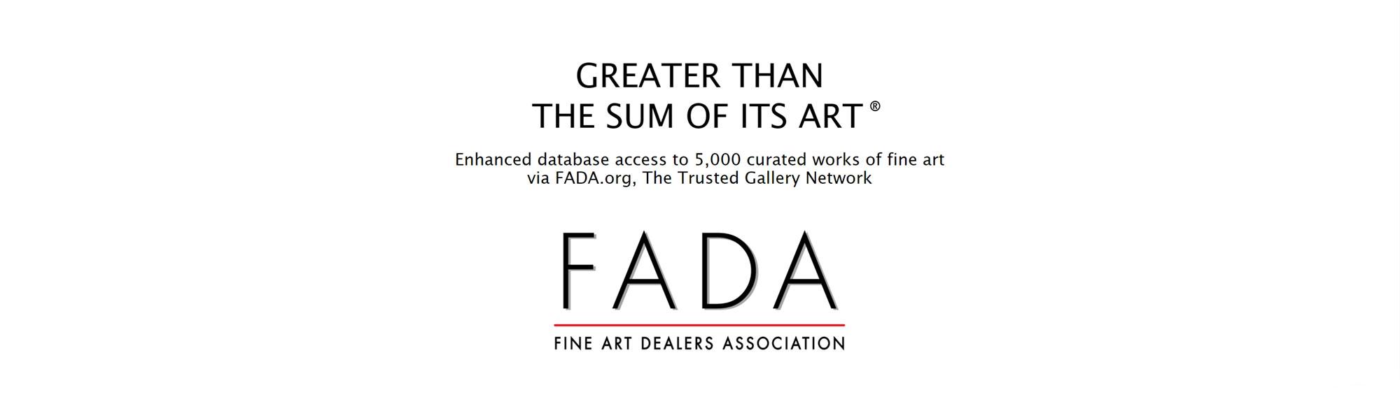 FADA logo and tag