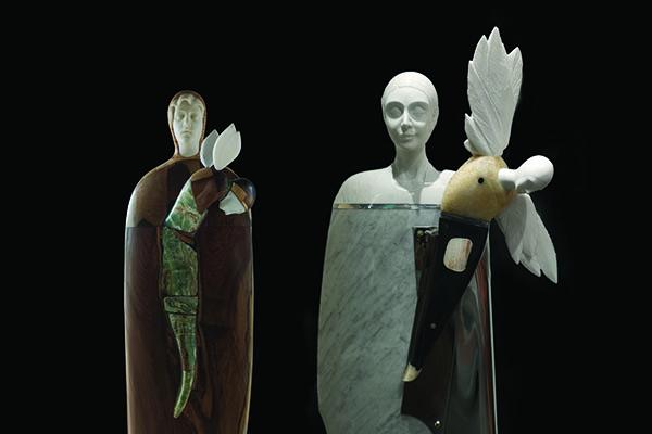 """Oriano Galloni's """"Symbolic Transfiguration"""" sculptures"""