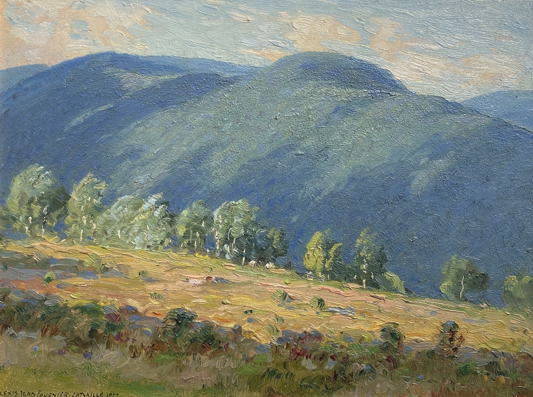 alt Pasture Land, Catskills Afternoon