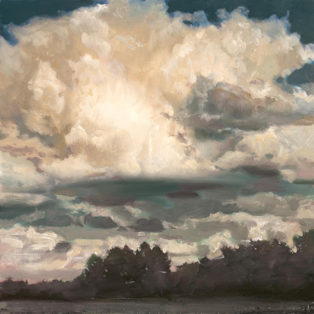 alt Cloudscape Over the White River